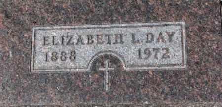 DAY, ELIZABETH L. - Dixon County, Nebraska | ELIZABETH L. DAY - Nebraska Gravestone Photos