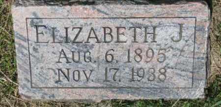 RICHARDS DAY, ELIZABETH J. - Dixon County, Nebraska   ELIZABETH J. RICHARDS DAY - Nebraska Gravestone Photos