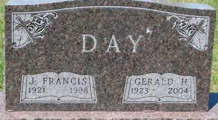 DAY, GERALD H. - Dixon County, Nebraska | GERALD H. DAY - Nebraska Gravestone Photos