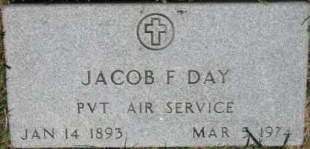 DAY, JACOB F. - Dixon County, Nebraska   JACOB F. DAY - Nebraska Gravestone Photos