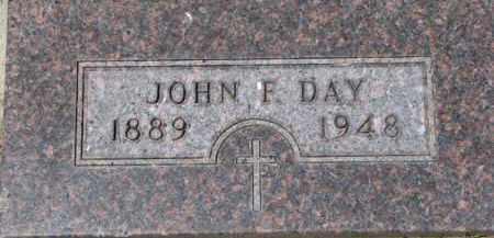 DAY, JOHN F. - Dixon County, Nebraska | JOHN F. DAY - Nebraska Gravestone Photos