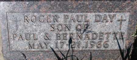 DAY, ROGER PAUL - Dixon County, Nebraska   ROGER PAUL DAY - Nebraska Gravestone Photos