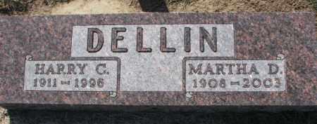 DELLIN, HARRY C. - Dixon County, Nebraska | HARRY C. DELLIN - Nebraska Gravestone Photos