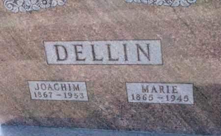 DELLIN, JOACHIM - Dixon County, Nebraska | JOACHIM DELLIN - Nebraska Gravestone Photos