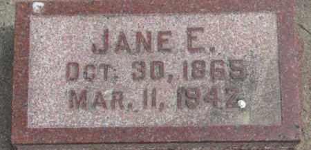 DEMME, JANE E. - Dixon County, Nebraska | JANE E. DEMME - Nebraska Gravestone Photos