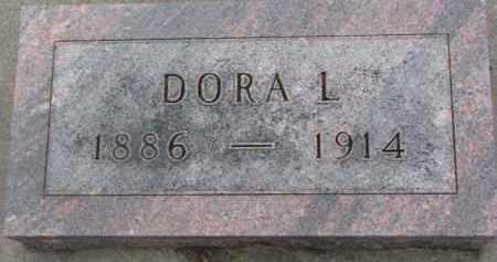 DENKER, DORA L. - Dixon County, Nebraska | DORA L. DENKER - Nebraska Gravestone Photos