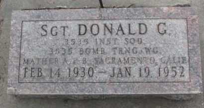 DENKER, DONALD G. - Dixon County, Nebraska   DONALD G. DENKER - Nebraska Gravestone Photos