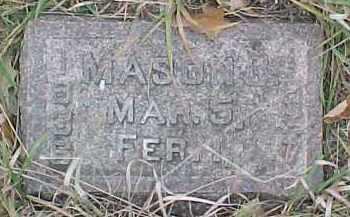 DEWITT, MASON B. - Dixon County, Nebraska | MASON B. DEWITT - Nebraska Gravestone Photos