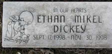 DICKEY, ETHAN MIKEL - Dixon County, Nebraska | ETHAN MIKEL DICKEY - Nebraska Gravestone Photos