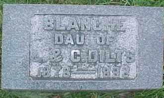 DILTS, BLANCHE - Dixon County, Nebraska | BLANCHE DILTS - Nebraska Gravestone Photos