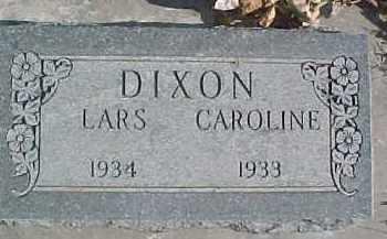 DIXON, CAROLINE JOSEPHINE - Dixon County, Nebraska   CAROLINE JOSEPHINE DIXON - Nebraska Gravestone Photos