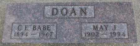 DOAN, MAY J. - Dixon County, Nebraska | MAY J. DOAN - Nebraska Gravestone Photos