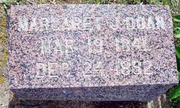 DOAN, MARGARET JANE - Dixon County, Nebraska   MARGARET JANE DOAN - Nebraska Gravestone Photos