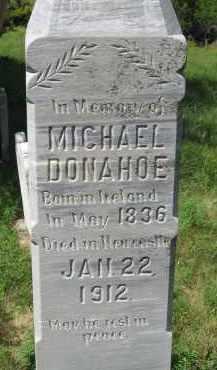 DONAHOE, MICHAEL - Dixon County, Nebraska | MICHAEL DONAHOE - Nebraska Gravestone Photos