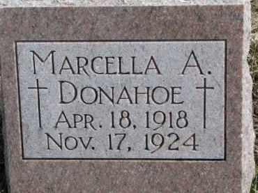 DONAHOE, MARCELLA A. - Dixon County, Nebraska | MARCELLA A. DONAHOE - Nebraska Gravestone Photos