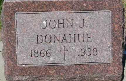 DONAHUE, JOHN J. - Dixon County, Nebraska | JOHN J. DONAHUE - Nebraska Gravestone Photos