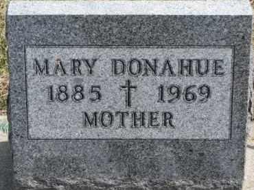 DONAHUE, MARY - Dixon County, Nebraska   MARY DONAHUE - Nebraska Gravestone Photos
