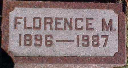 DONELSON, FLORENCE M. - Dixon County, Nebraska | FLORENCE M. DONELSON - Nebraska Gravestone Photos