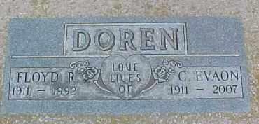 DOREN, FLOYD R. - Dixon County, Nebraska   FLOYD R. DOREN - Nebraska Gravestone Photos