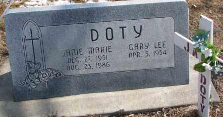 DOTY, GARY LEE - Dixon County, Nebraska | GARY LEE DOTY - Nebraska Gravestone Photos