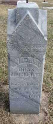 DOUGHERTY, CHARLES SR. - Dixon County, Nebraska | CHARLES SR. DOUGHERTY - Nebraska Gravestone Photos