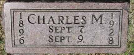 DOUGHERTY, CHARLES M. - Dixon County, Nebraska | CHARLES M. DOUGHERTY - Nebraska Gravestone Photos