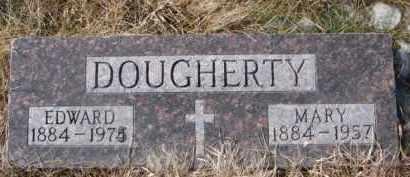 DOUGHERTY, EDWARD - Dixon County, Nebraska | EDWARD DOUGHERTY - Nebraska Gravestone Photos