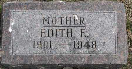 DOUGHERTY, EDITH E. - Dixon County, Nebraska | EDITH E. DOUGHERTY - Nebraska Gravestone Photos