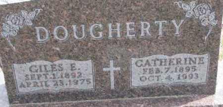 DOUGHERTY, CATHERINE - Dixon County, Nebraska | CATHERINE DOUGHERTY - Nebraska Gravestone Photos