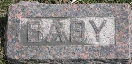 DOUGHERTY, INFANT - Dixon County, Nebraska | INFANT DOUGHERTY - Nebraska Gravestone Photos