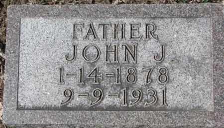 DOUGHERTY, JOHN J. - Dixon County, Nebraska | JOHN J. DOUGHERTY - Nebraska Gravestone Photos