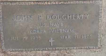 DOUGHERTY, JOHN P. (MILITARY MARKER) - Dixon County, Nebraska | JOHN P. (MILITARY MARKER) DOUGHERTY - Nebraska Gravestone Photos