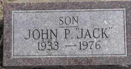 "DOUGHERTY, JOHN P. ""JACK"" - Dixon County, Nebraska | JOHN P. ""JACK"" DOUGHERTY - Nebraska Gravestone Photos"