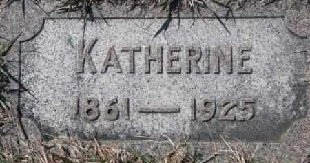 DOUGHERTY, KATHERINE - Dixon County, Nebraska   KATHERINE DOUGHERTY - Nebraska Gravestone Photos