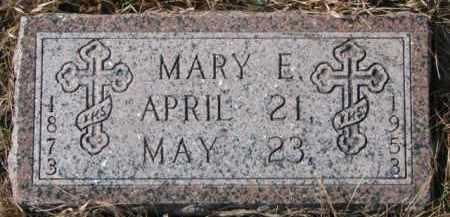 DOUGHERTY, MARY E. - Dixon County, Nebraska | MARY E. DOUGHERTY - Nebraska Gravestone Photos