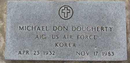 DOUGHERTY, MICHAEL DON (MILITARY MARKER) - Dixon County, Nebraska | MICHAEL DON (MILITARY MARKER) DOUGHERTY - Nebraska Gravestone Photos