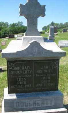 DOUGHERTY, JANE - Dixon County, Nebraska | JANE DOUGHERTY - Nebraska Gravestone Photos