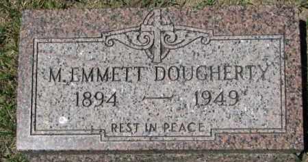 DOUGHERTY, M. EMMETT - Dixon County, Nebraska | M. EMMETT DOUGHERTY - Nebraska Gravestone Photos