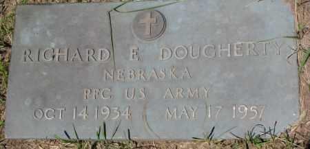 DOUGHERTY, RICHARD E. (MILITARY MARKER) - Dixon County, Nebraska | RICHARD E. (MILITARY MARKER) DOUGHERTY - Nebraska Gravestone Photos
