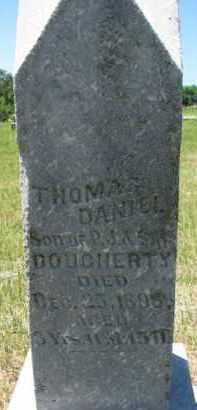 DOUGHERTY, THOMAS DANIEL - Dixon County, Nebraska | THOMAS DANIEL DOUGHERTY - Nebraska Gravestone Photos