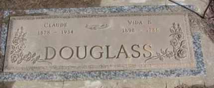 DOUGLASS, CLAUDE - Dixon County, Nebraska | CLAUDE DOUGLASS - Nebraska Gravestone Photos