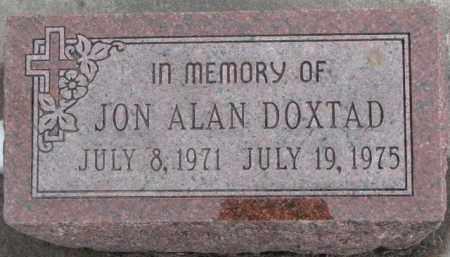 DOXTAD, JON ALAN - Dixon County, Nebraska | JON ALAN DOXTAD - Nebraska Gravestone Photos
