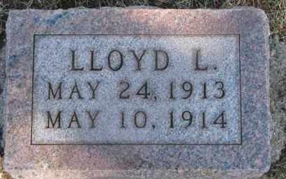 DOXTAD, LLOYD L. - Dixon County, Nebraska   LLOYD L. DOXTAD - Nebraska Gravestone Photos