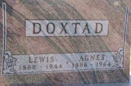 DOXTAD, LEWIS - Dixon County, Nebraska | LEWIS DOXTAD - Nebraska Gravestone Photos