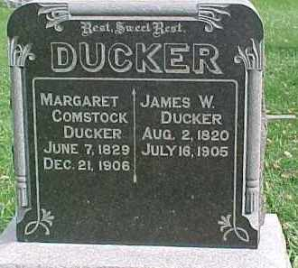 DUCKER, JAMES W. - Dixon County, Nebraska   JAMES W. DUCKER - Nebraska Gravestone Photos