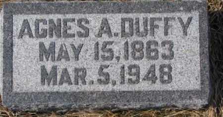 DUFFY, AGNES A. - Dixon County, Nebraska | AGNES A. DUFFY - Nebraska Gravestone Photos