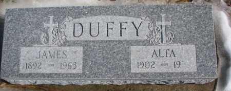 DUFFY, ALTA - Dixon County, Nebraska   ALTA DUFFY - Nebraska Gravestone Photos