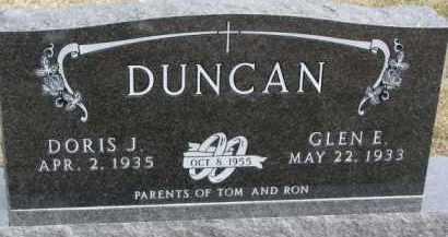 DUNCAN, DORIS J. - Dixon County, Nebraska | DORIS J. DUNCAN - Nebraska Gravestone Photos
