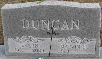 DUNCAN, LAVERN - Dixon County, Nebraska | LAVERN DUNCAN - Nebraska Gravestone Photos