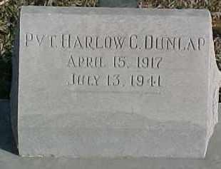 DUNLAP, HARLOW C. - Dixon County, Nebraska   HARLOW C. DUNLAP - Nebraska Gravestone Photos